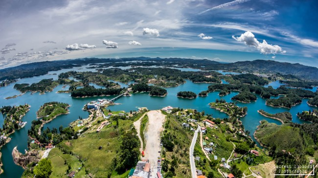 Guatape, Colombia, July 2014